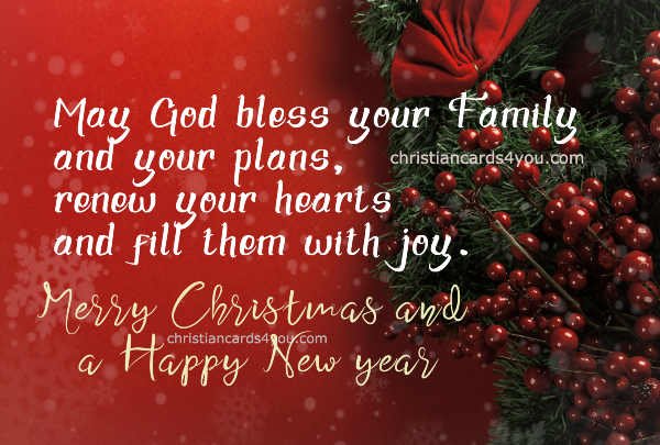 nice christian religious christmas image for friends and family happy new year