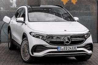 new Mercedes EQA 2021 electric crossover arrives in luxury and luxury