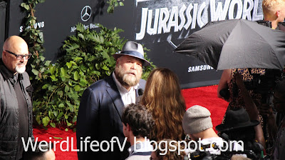 Vincent D'Onofrio being interviewed - Jurassic World Premiere
