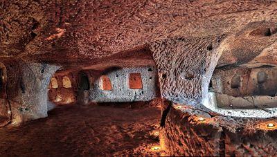 Dünya'da ilk ve tek yeraltı şehri mozaik müzesi nerededir?