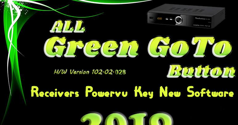 All Green GoTo Receiver Software 2019 (H/W 102 02 028) - Online Dish