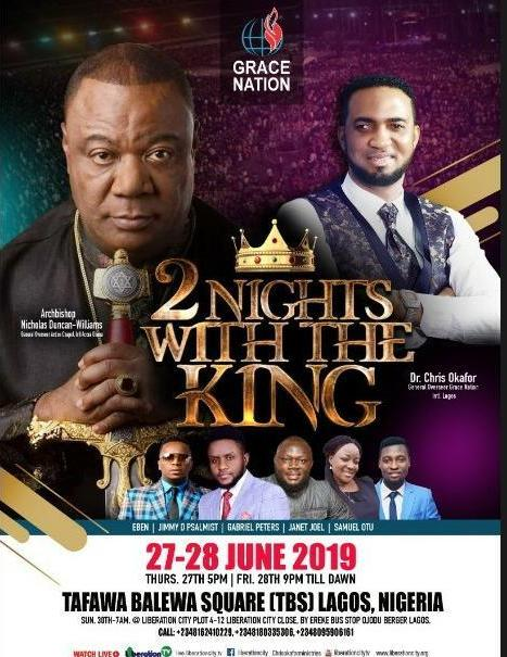 Dr Chris Okafor Stages Another Powerful Prophetic And Deliverance '2 Night With The King' Conference In Lagos
