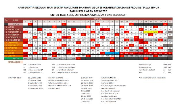 www.riefawa.com | Kalender Pendidikan 2019/2020 | Pdf