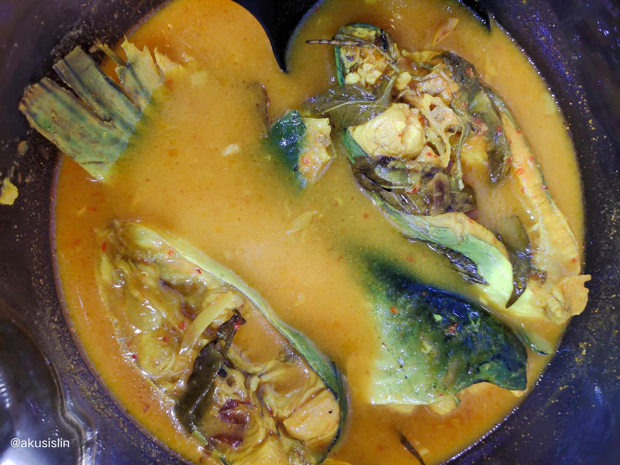 Gulai Tempoyak Ikan Patin