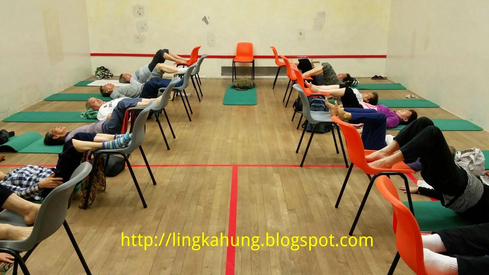 從今天開始運動: 4.5小時的教班生活