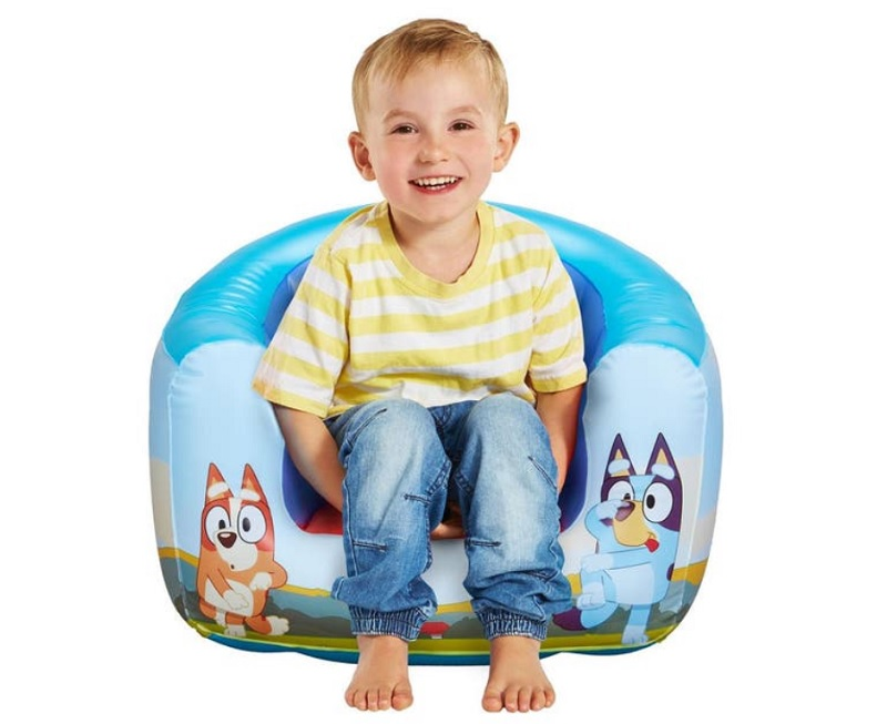 Bluey inflatable armchair