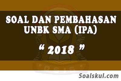 Download Soal dan Pembahasan UNBK SMA 2018 (IPA)