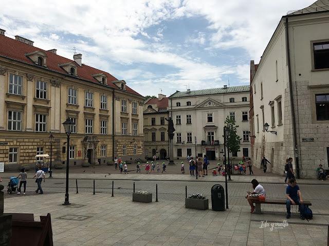 Cracovia fotos calles del centro histórico