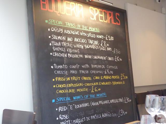 Boqueria (Brixton): where tapas are fantastic down South