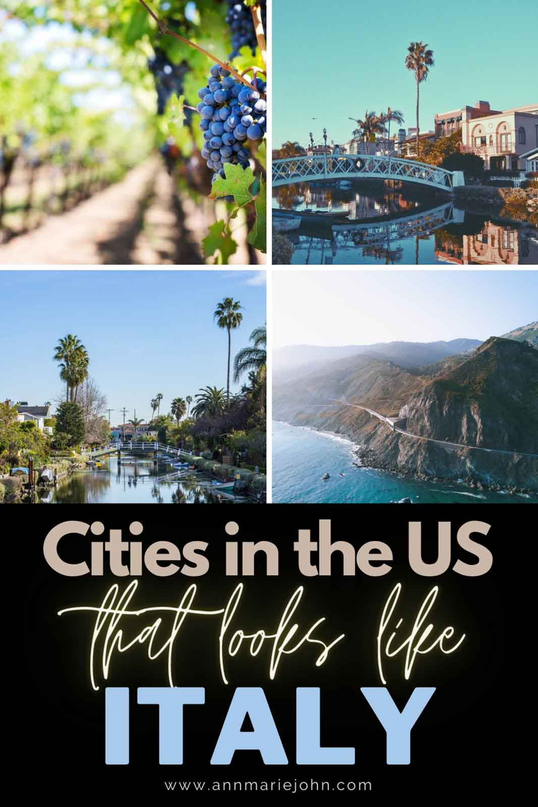 Incredible Cities in the US That Look Like Italy