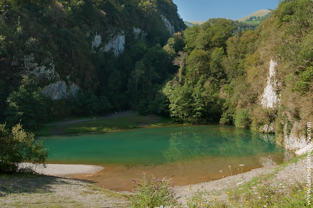 Ruta  Senderismo Garganta Kakueta pirineo frances francia escapada viaje