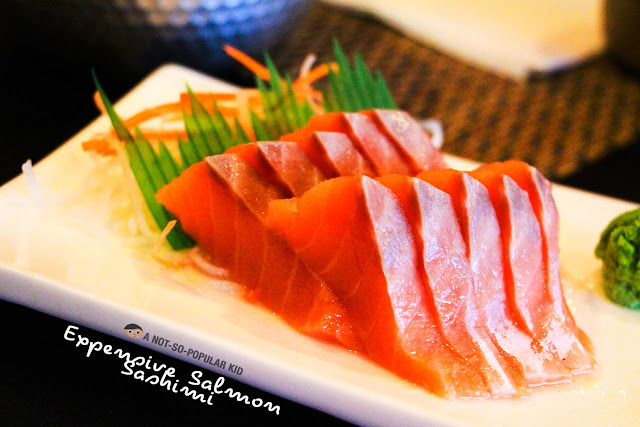 Salmon Sashimi of Kamameshi House