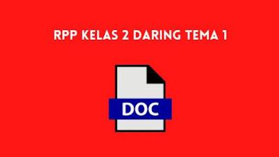 RPP Kelas 2 Daring Tema 1