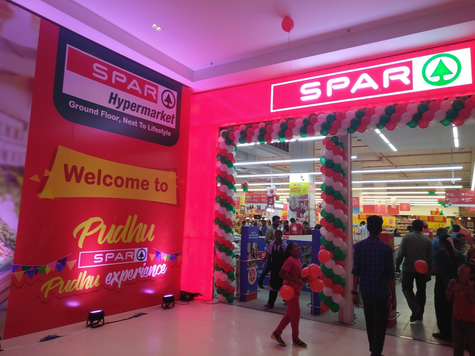 Life With Spices Spar Hypermarket At Vr Mall Chennai