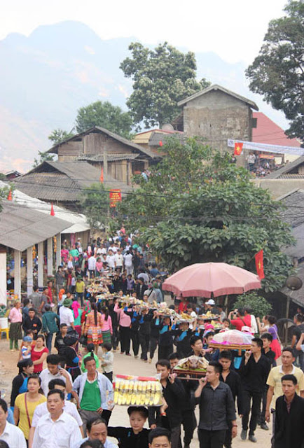 Lễ hội chợ tình Khâu Vai năm 2021