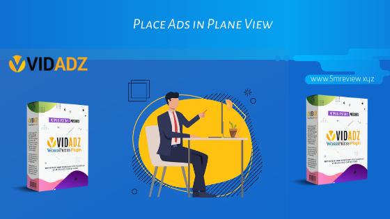 Vidadz Review Plane View