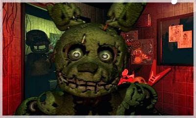 Five Nights at Freddy's 3 Apk golden bonnie