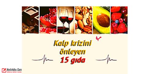 Kalp Krizini Önleyen 15 Gıda