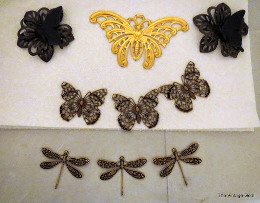 Build A Line Challenge from B'sue Boutiques, Micheale Collie of The Vintage Gem, Part Two