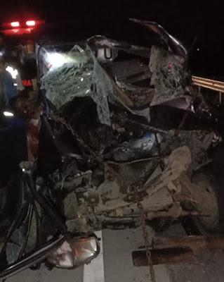 Tabrak Truk Tronton di Tol Medan-Tebingtinggi, 3 Penumpang Mobil Pick Up Tewas