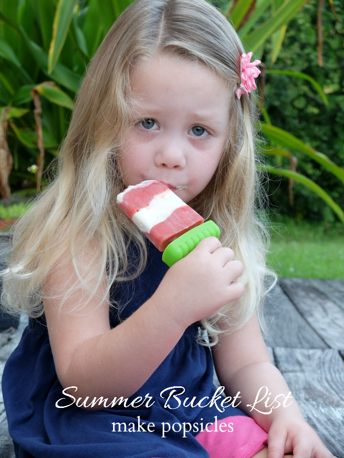 Sweet Turtle Soup - Summer Bucket List | make popsicles
