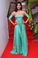Anisha Ambrose sizzles in cute Green Anarkali Dress at Fashion TV F Club Saloon Launch ~  Exclusive 011.JPG