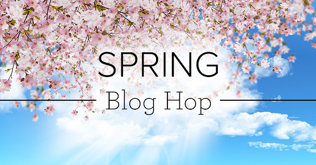 Crafty Collaborations Spring Blog Hop Banner - February 2021 | Nature's INKspirations by Angie McKenzie