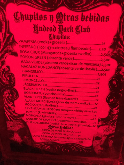 Undead Dark Club Barcelona