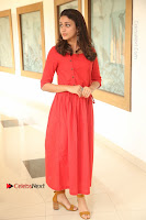 Actress Lavanya Tripathi Latest Pos in Red Dress at Radha Movie Success Meet .COM 0042.JPG