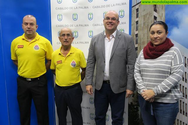 El Cabildo y AEA renuevan su compromiso de colaboración en materia social y de protección civil