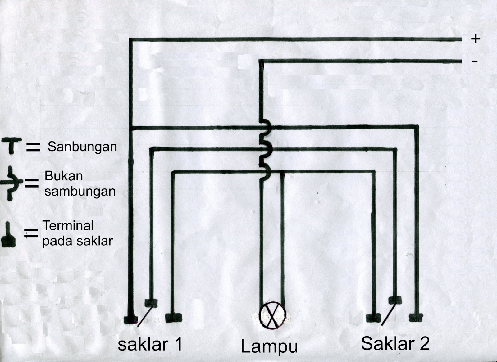 cara wiring lampu rumah