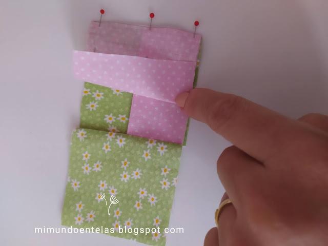 patchwork tutorial lazos o bow tie