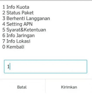Cara Berhenti Paket Internet Yellow Indosat