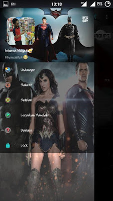 BBM Mod Superman vs Batman v2.13.0.22 Apk Terbaru Free Download
