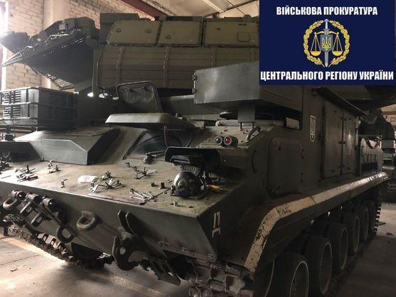 У Житомирській області затримали військового, який крав деталі від ЗРК