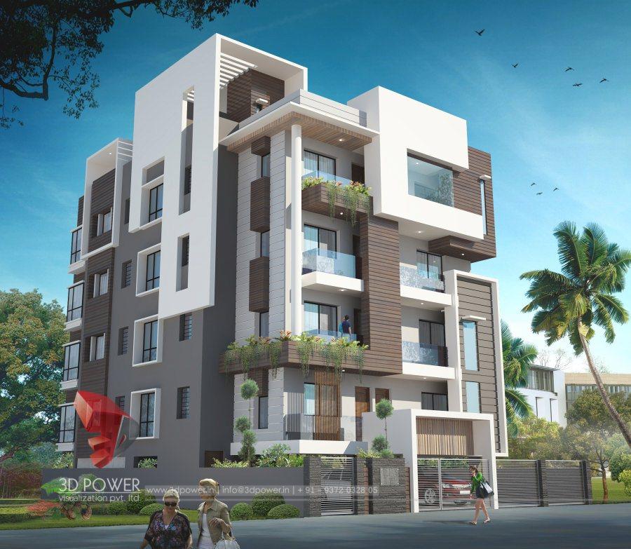 5 Floor Apartment Elevation : Ultra modern home designs d exterior