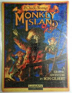 Puzzle Monkey Island 2