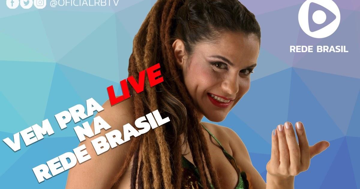 Rede Brasil de Televisão transmite live da cantora Gilmelândia