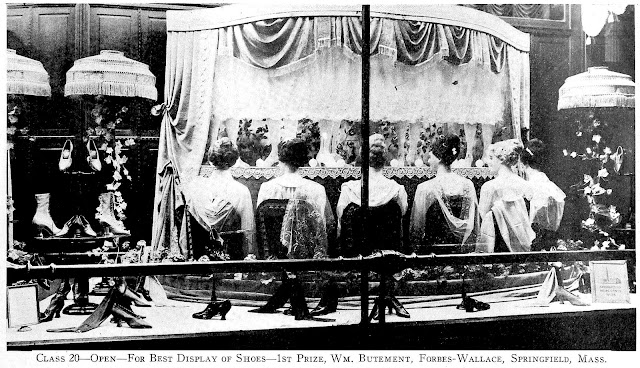 1917 window display mannequins