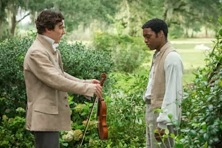 Benedict Cumberbatch and Chiwetel Ejiofor in 12 Years a Slave, directed by Steve McQueen