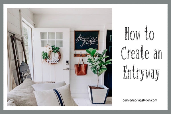 How to Create an Entryway and Other Thursday Favorite Things Inspirations