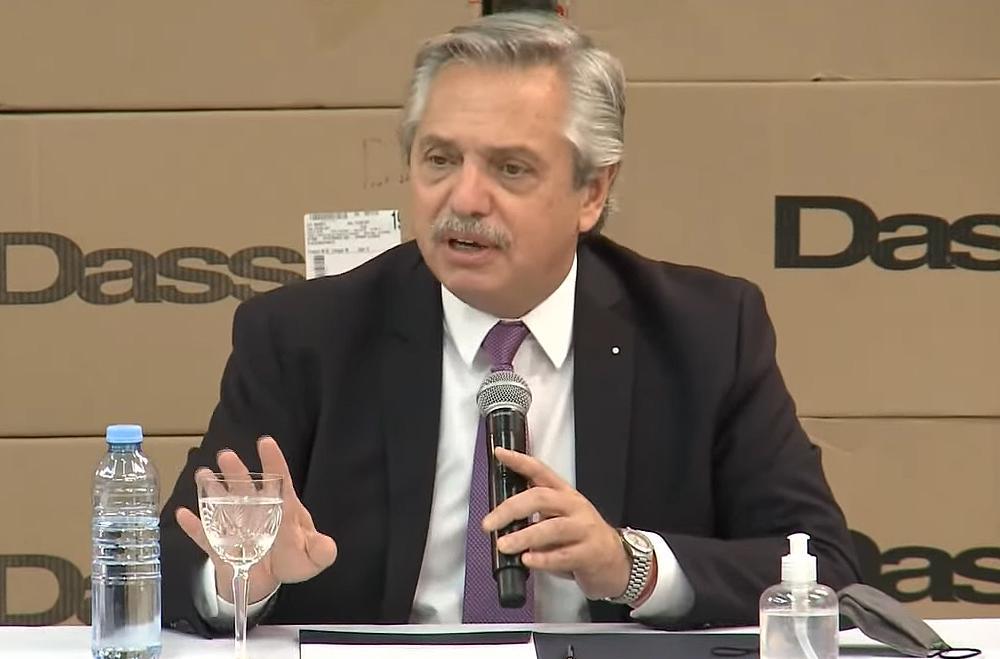 """Alberto Fernández descartó volver a fase 1 pero que """"deberán seguir en estos términos"""" con las restricciones"""