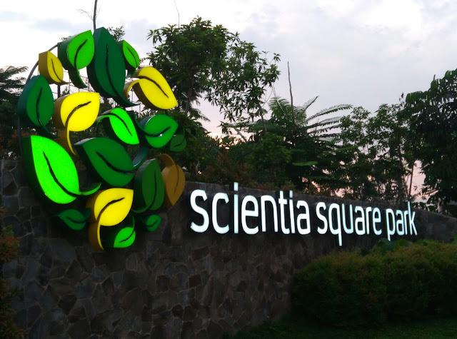 Taman Hitz di Tangerang: Scientia Square Park