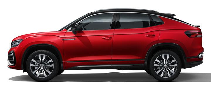 Ra mắt Volkswagen Tayron X - SUV lai coupe nằm giữa Honda CR-V và Mercedes GLC