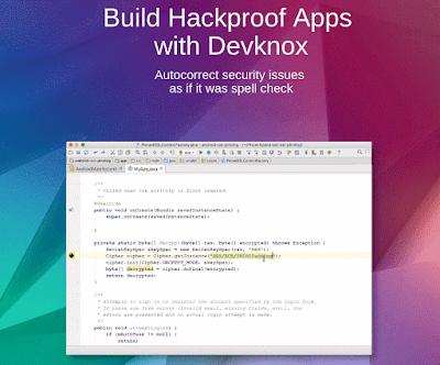 إضافة Devknox لحل المشاكل الأمنيه أثناء برمجة التطبيقات