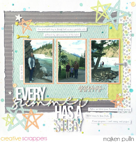 {Every Summer Has a Story} - Creative Scrappers Sketch 299 Reveal