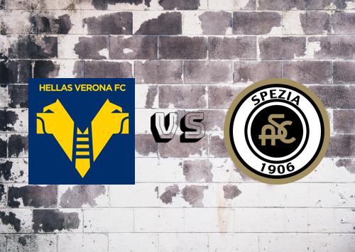 Hellas Verona vs Spezia  Resumen