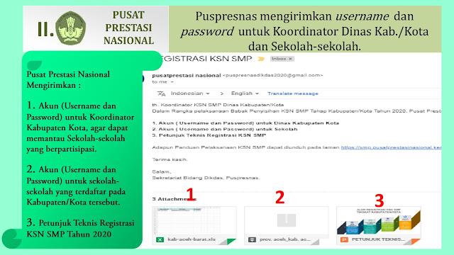 pusat prestasi nasional panduan registrasi daring ksn smp tahun 2020 tomatalikuang.com