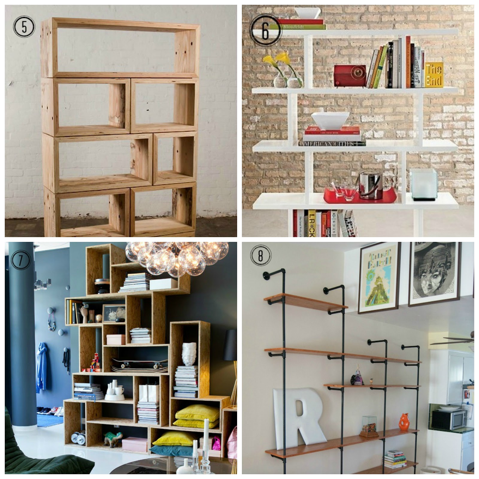 8 Diy Shelf Ideas Design Tendencies