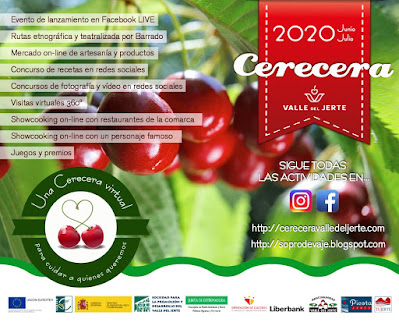 CERECERA 2020. VALLE DEL JERTE (junio y julio)